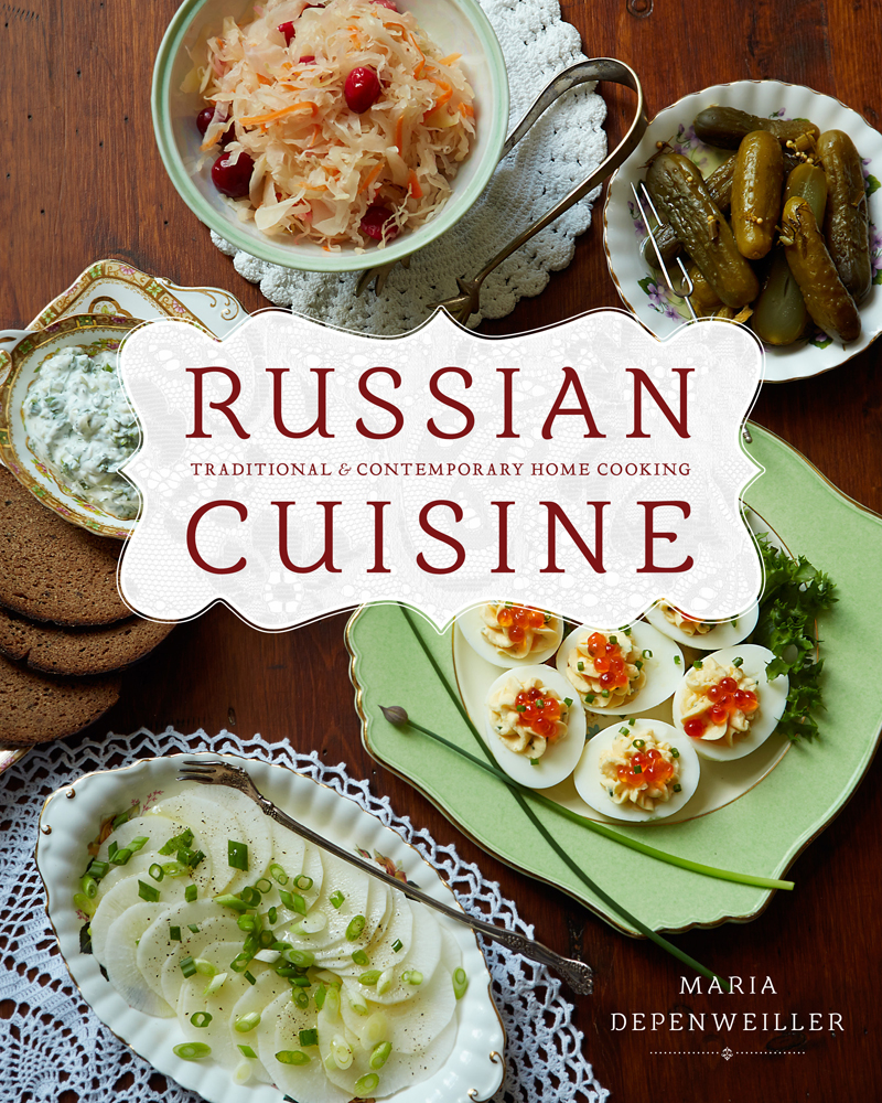 Maria depenweiller for Authentic russian cuisine